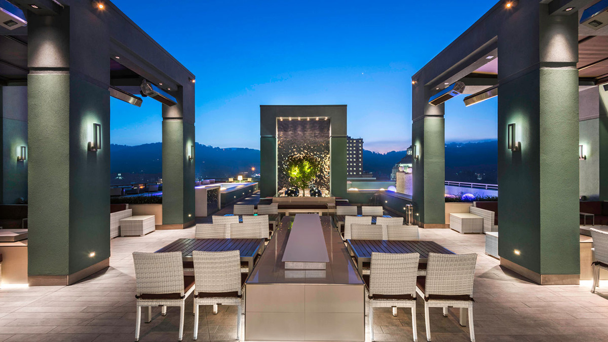 AC Marriott - Asheville, NC - Open Air Seating and Event Space Planning