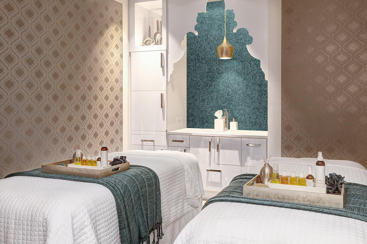Spa Double Bed Treatment Room Interior Design
