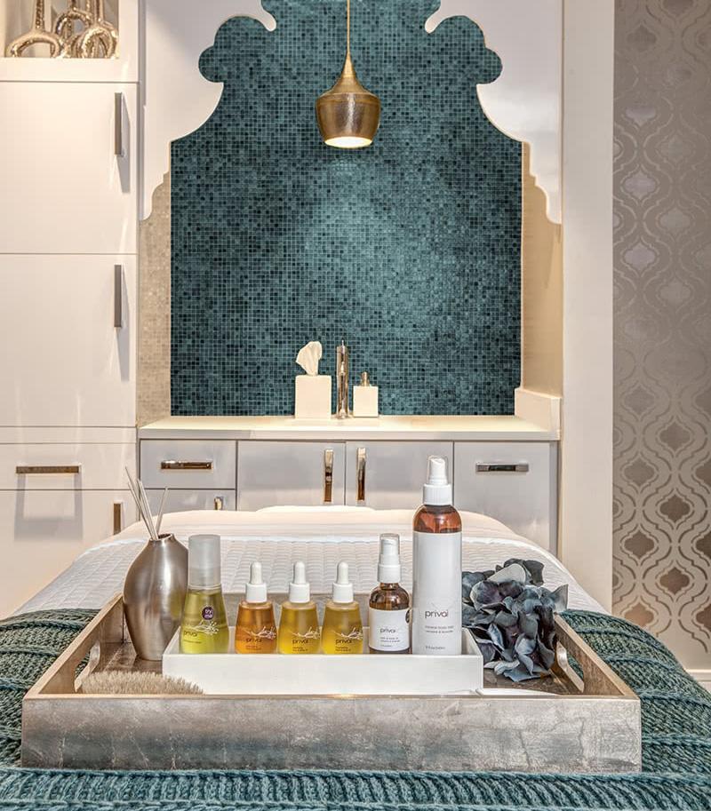 Poseidon Spa Treatment Room - Interiors Designed To Reflect Brand Experience