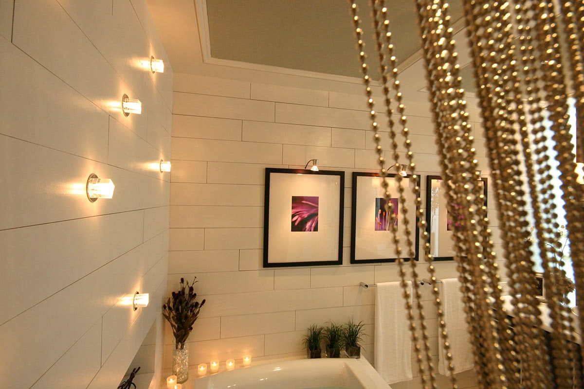 Residential House Interior Design - Bathroom Design