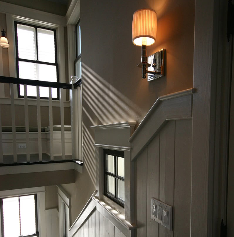 Ocean Front House - Stairwell Transitional Area