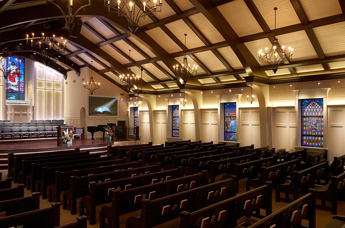 Church of Oh My Lord - Custom Pew Designs