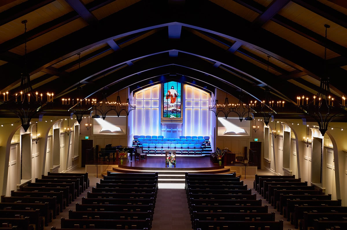 Stage Lighting Design - Oh My Lord Sanctuary