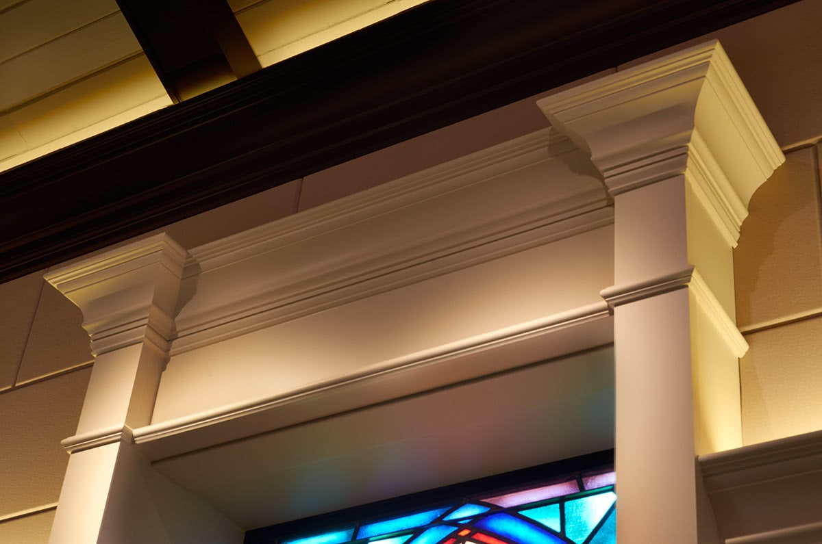 Intricate Lighting Selection - Church Sanctuary