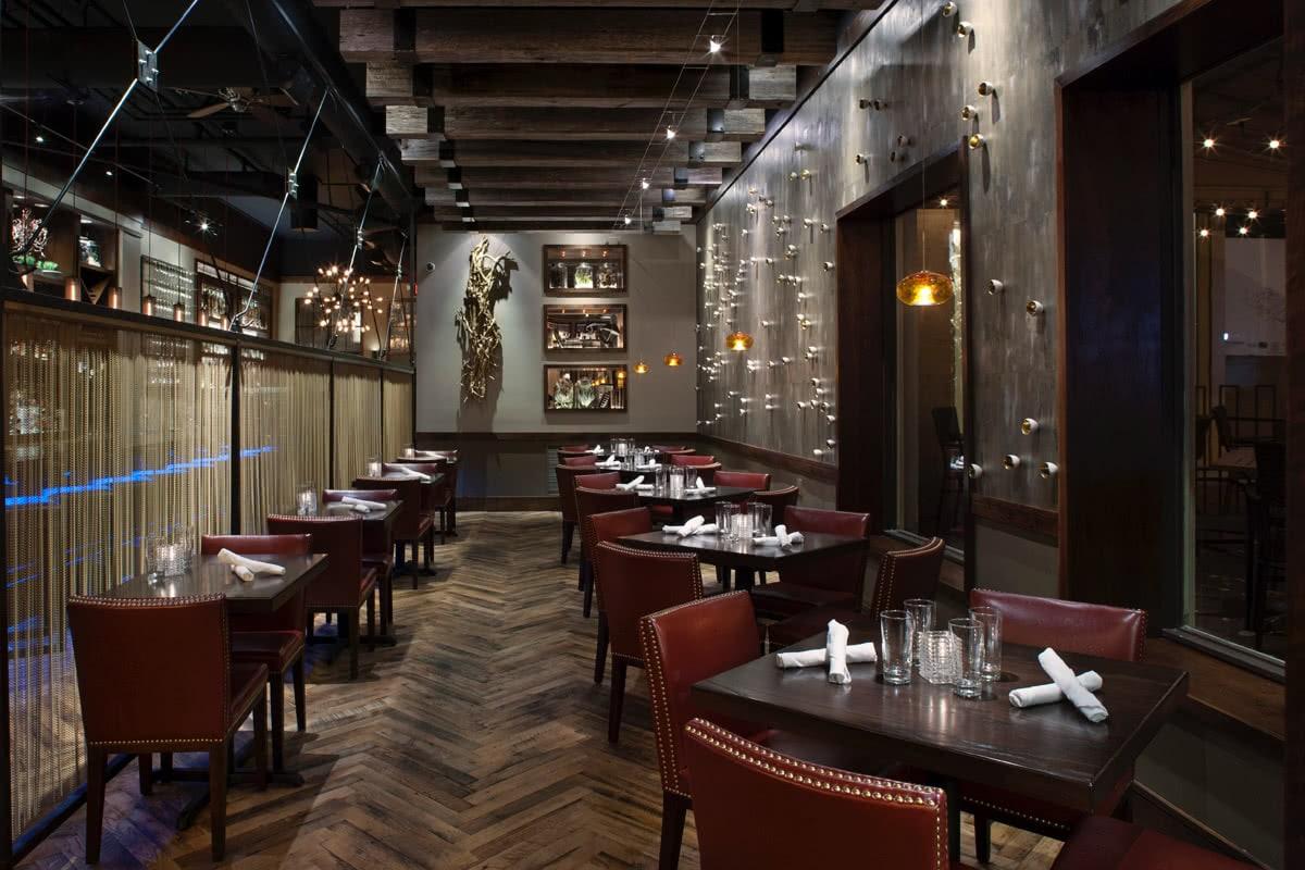 Posana Restaurant Asheville NC Seating Area Design