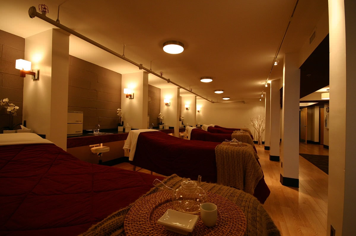 Spa Treatment Area - Lighting Selection and Layout Create an Approachable Atmosphere
