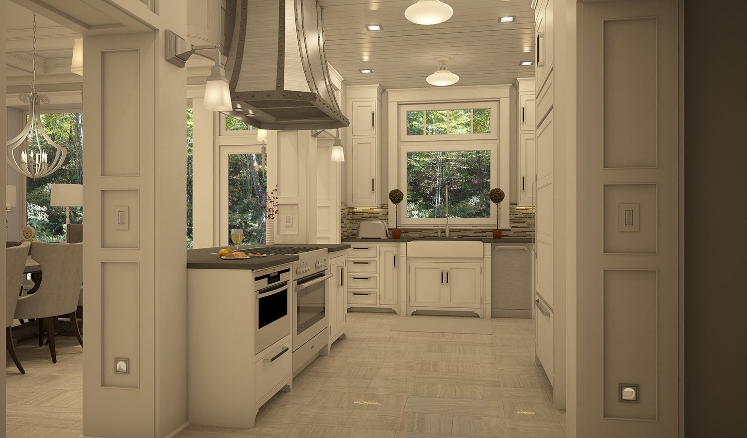 Residential House Kitchen Design