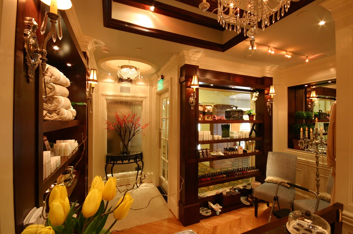 The Biltmore Spa, Asheville, NC - Commercial Interior Design