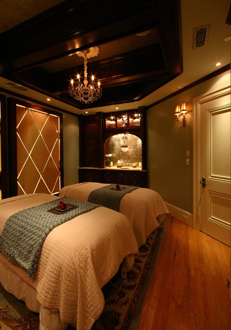 The Biltmore Spa - Double Bed Treatment Room Design