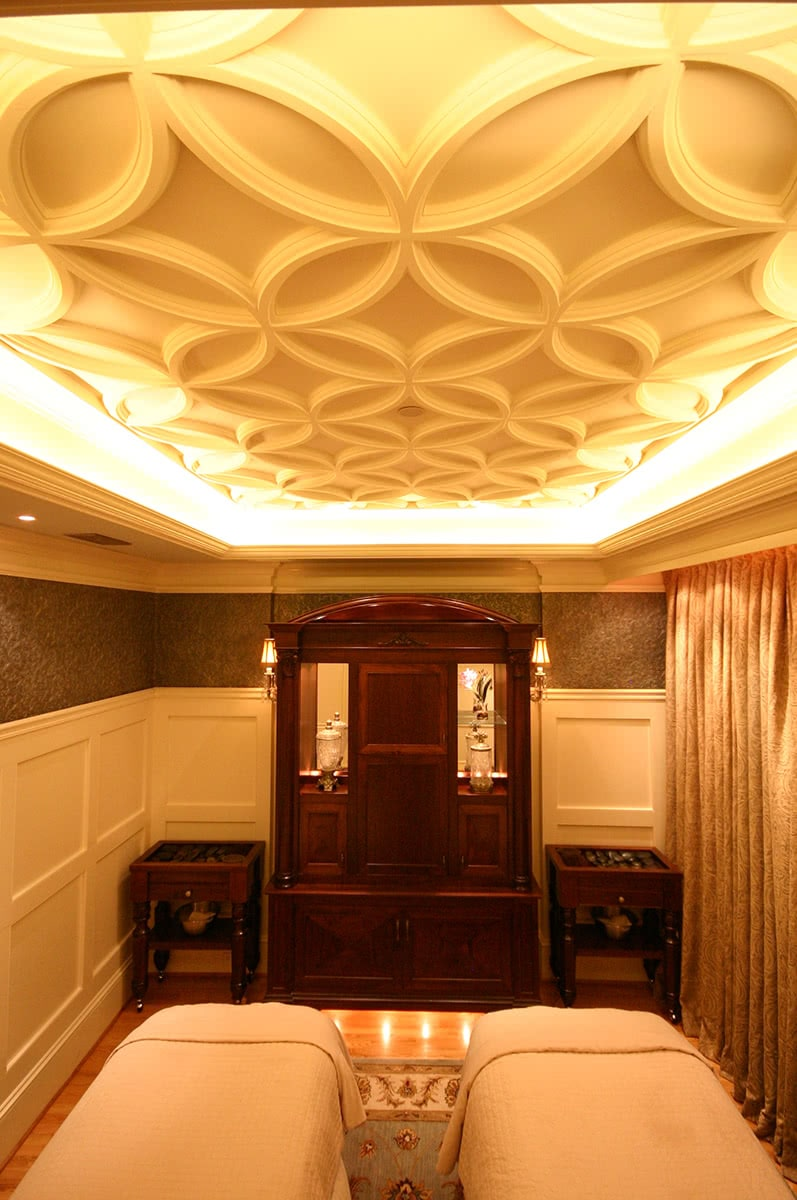 Ceiling and Lighting Design - The Biltmore Estate Spa