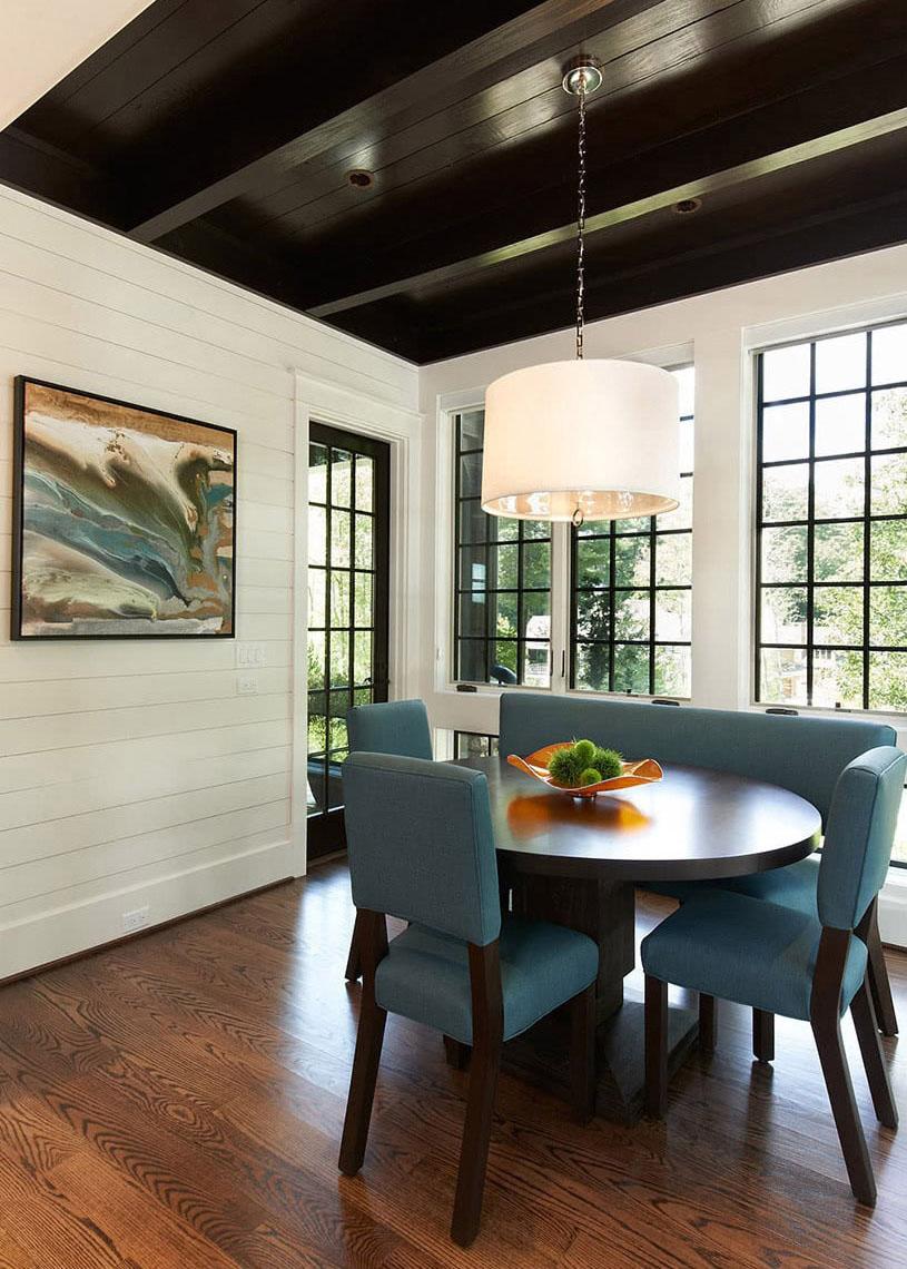 Transitional Beauty - Home Breakfast Area