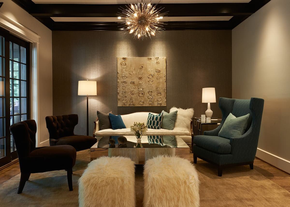 Residential House Seating Area Design