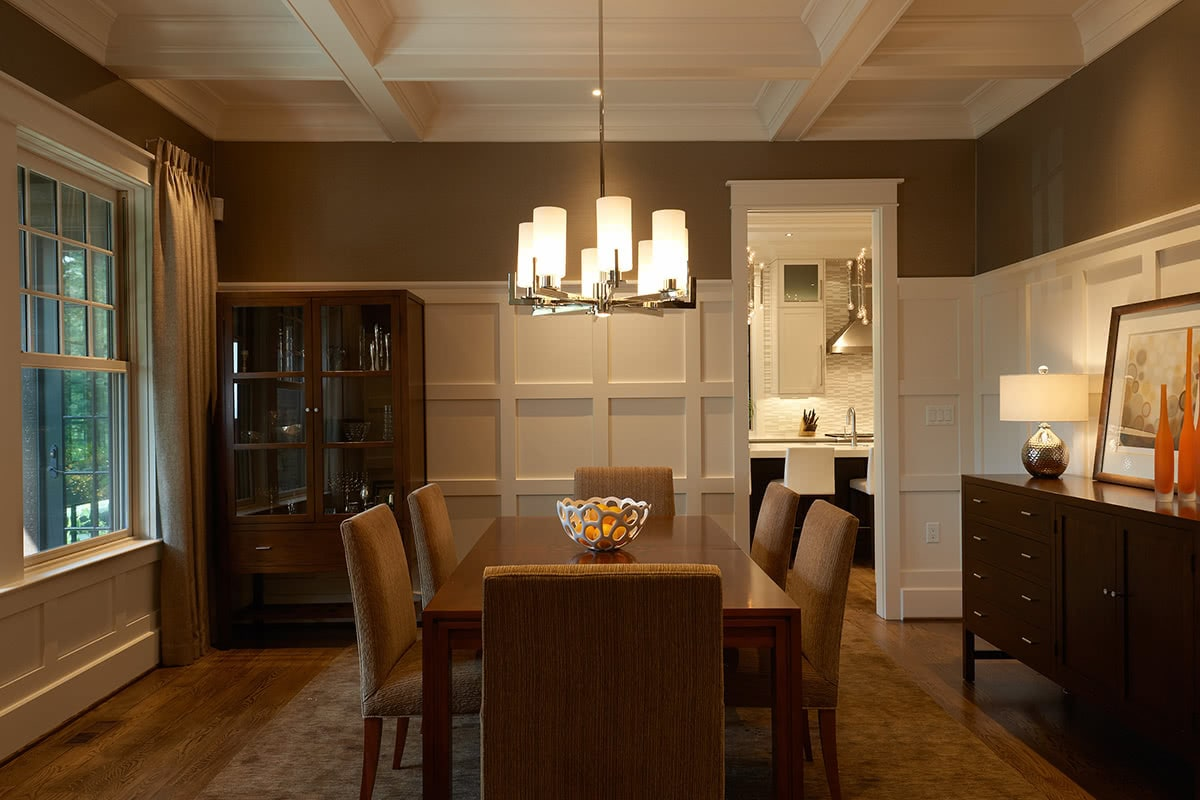 Dining Room Design and Decoration - Residential House