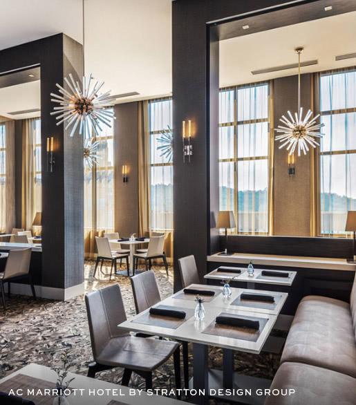 AC Marriott Hotel by Stratton Design Group