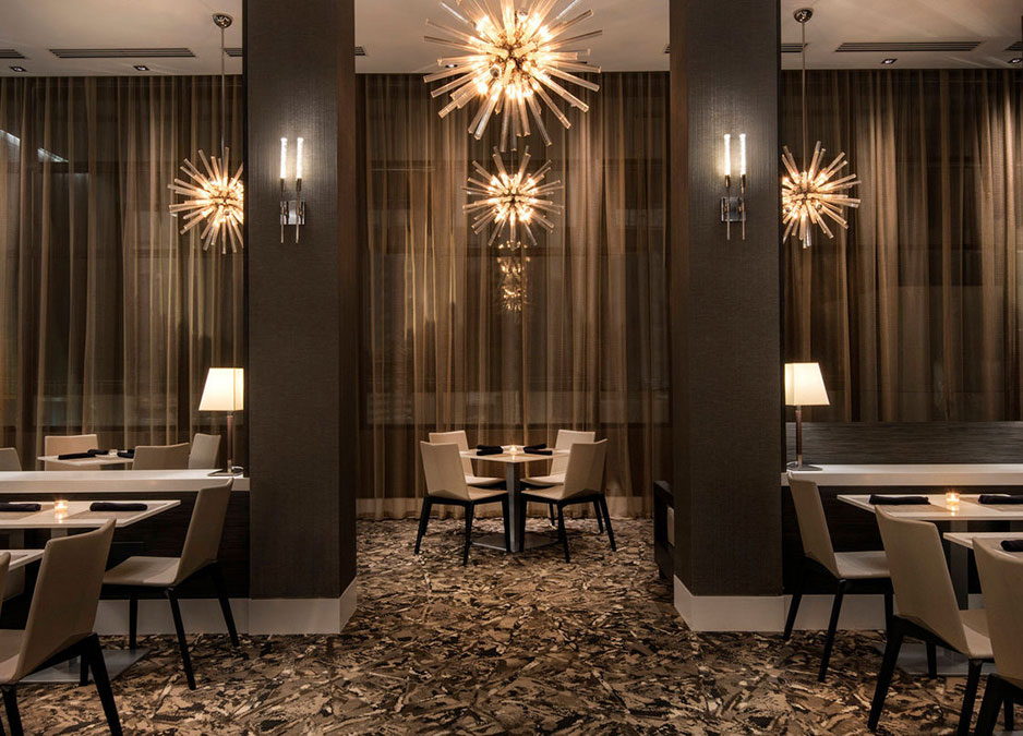 Fine Dining Area Design