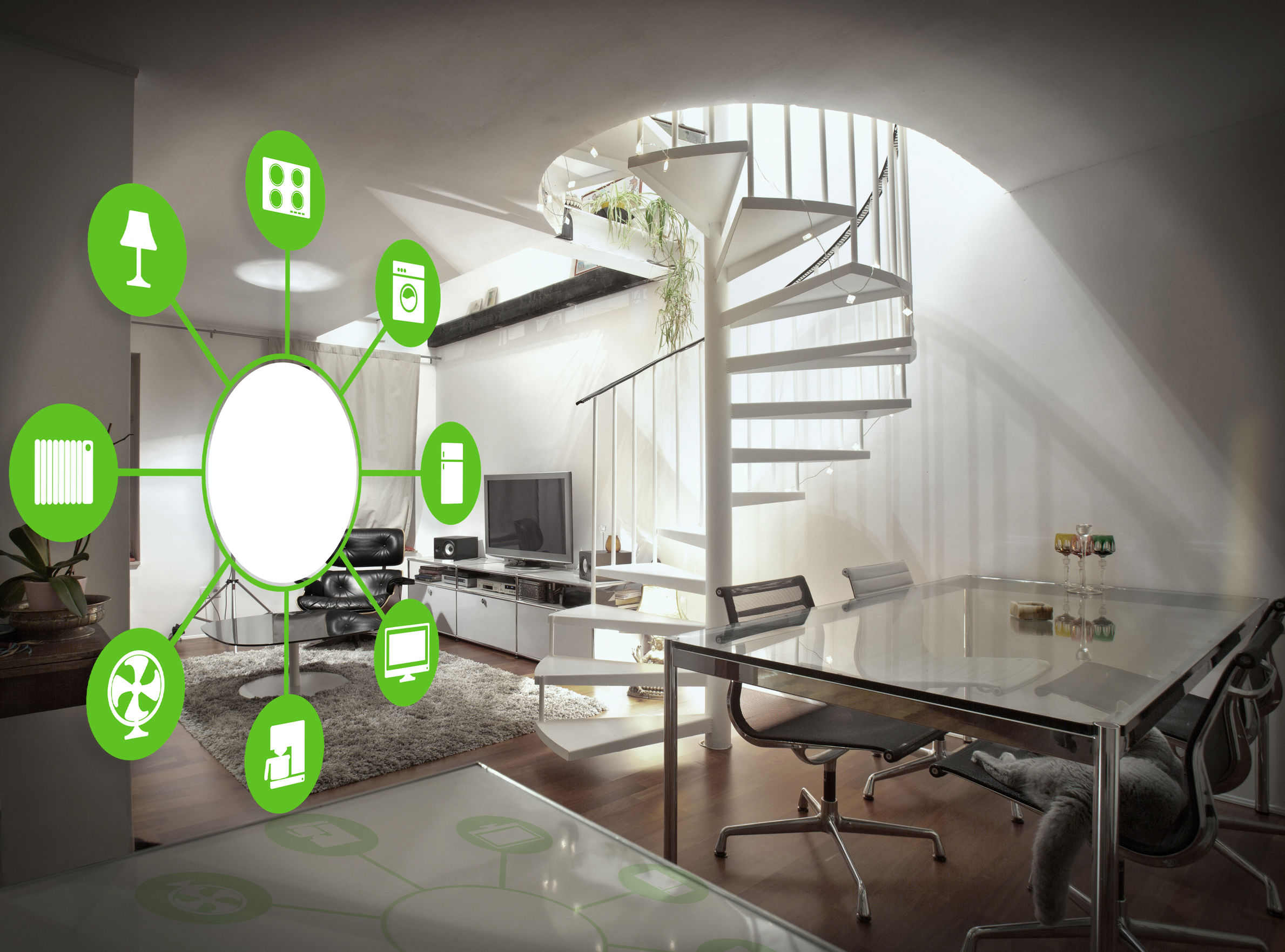 Smart Home Technology and Intelligent Interior Design - Asheville interior designers