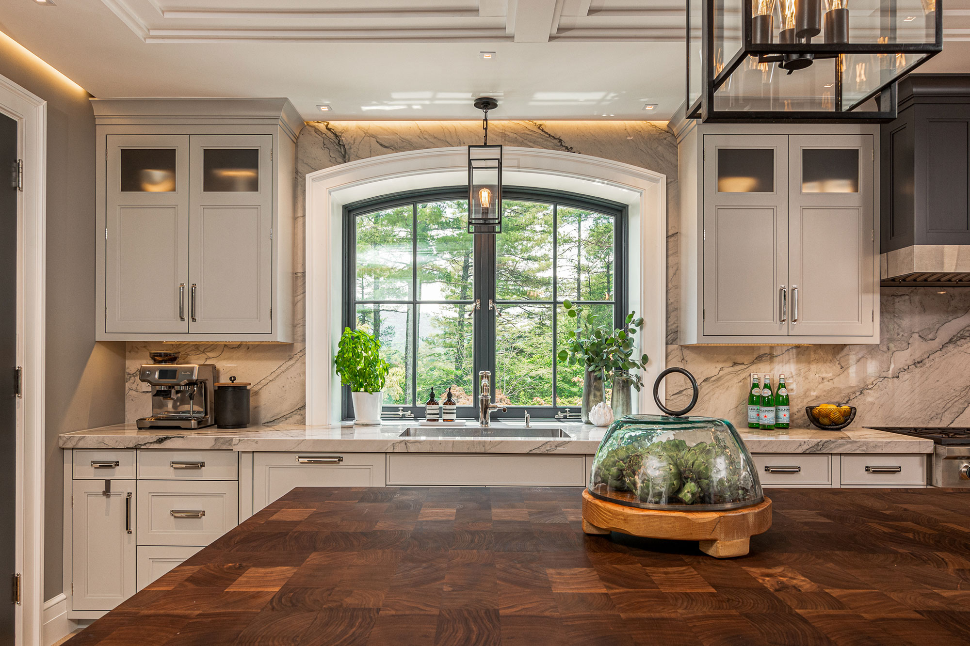 Governor's Mansion Kitchen Remodel by Stratton Design Group
